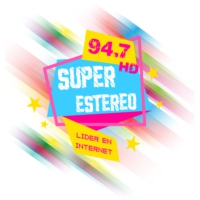 Logo de la radio Super Estereo 94.7 HD