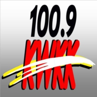 Logo of radio station KWKK River Hits 100.9