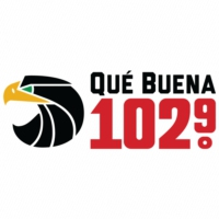 Logo of radio station KLTN Qué Buena 102.9