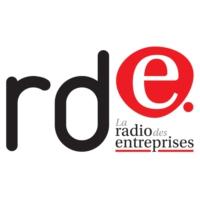 Logo de la radio RDE, la radio des entreprises