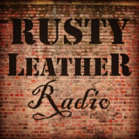Logo de la radio Rusty Leather Radio