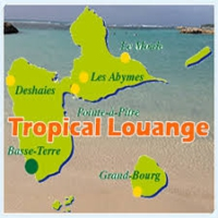 Logo of radio station T.C.L TROPICAL LOUANGE