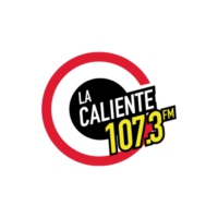 Logo of radio station La Caliente 107.3 FM