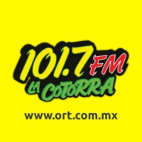 Logo of radio station XHVIR La Cotorra 101.7 FM
