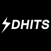 Logo of radio station DHits