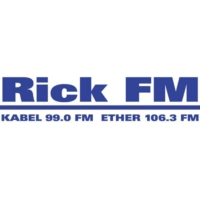 Logo of radio station Rick FM