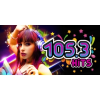 Logo of radio station 105.3 FM Hits