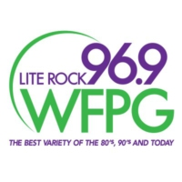 Logo de la radio WFPG Lite Rock 96.9