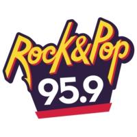 Logo of radio station FM Rock and Pop 95.9
