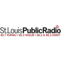 Logo of radio station KWMU 90.7