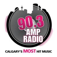Logo de la radio CKMP 90.3 Amp Radio