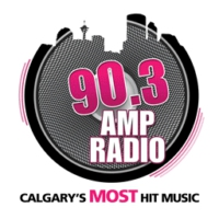 Logo of radio station CKMP 90.3 Amp Radio