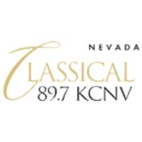 Logo of radio station KCNV Classical 89.7