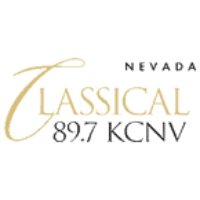 Logo of radio station KCNV Classical 89.7