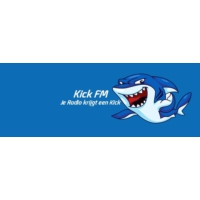 Logo of radio station Kick Fm