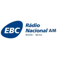 Logo of radio station Rádio Nacional AM Brasília