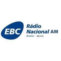 Logo de la radio Rádio Nacional AM Brasília