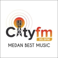 Logo of radio station City Radio Medan 95.9