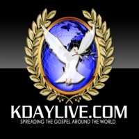 Logo of radio station KDAY LIVE