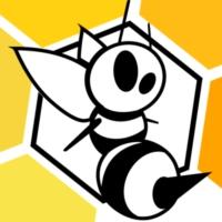 Logo of radio station La Ruche radio