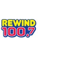 Logo de la radio KYMV Rewind 100.7