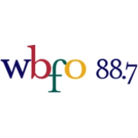 Logo of radio station WBFO 88.7 Buffalo