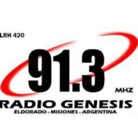 Logo of radio station FM Genesis 91.3