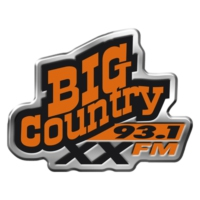 Logo of radio station CJXX Big Country 93.1