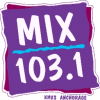 Logo of radio station KMXS 103.1
