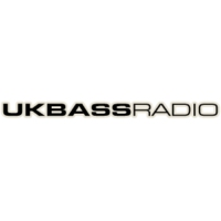 Logo of radio station UK Bass Radio