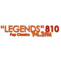Logo de la radio KLVZ  Legends 810