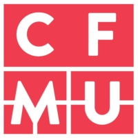 Logo of radio station 93.3 CFMU