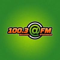 Logo de la radio @FM 100.3