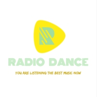 Logo of radio station ----- ♫ ( Radio Dance ) -  you are listening the best music now ♫