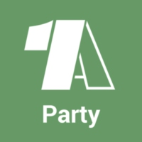 Logo of radio station - 1A Party -