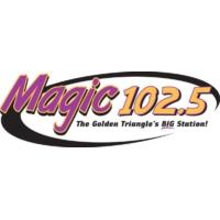 Logo of radio station KTCX Magic 102.5 FM