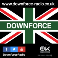 Logo de la radio Downforce Radio