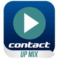 Logo de la radio Contact Up Mix