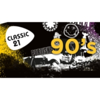 Logo of radio station Classic 21 - 90's (RTBF)