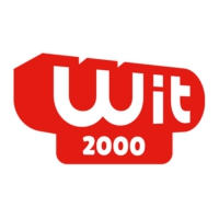 Logo of radio station Wit 2000