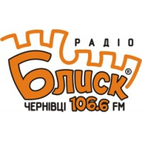 Logo of radio station Радіо Блиск FM 106,6