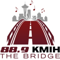 Logo of radio station KMIH 88.9 The Bridge