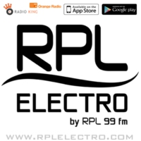 Logo of radio station RPL ELECTRO