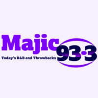 Logo of radio station KMJI Majic 93.3