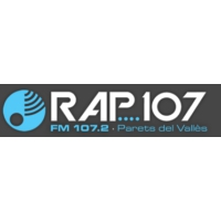 Logo of radio station RAP 107 FM