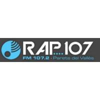 Logo de la radio RAP 107 FM