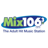 Logo de la radio KJBX Mix 106.3