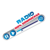 Logo of radio station 100% dominicana