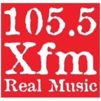 Logo of radio station XFM 105.5