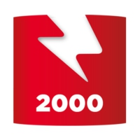 Logo of radio station Voltage 2000